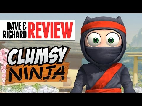 """Dave & Richard Review """"Clumsy Ninja"""" (Created by Kids)"""