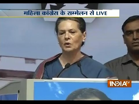 Fake Dreams Were Sold By Narendra Modi's Party, Says Sonia Gandhi - India TV