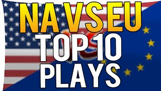 CS:GO - TOP 10 PLAYS EU VS NA(ALL STARS) MLG COLUMBUS 2016