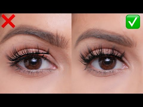 FALSE LASHES: Do's and Don'ts   For Beginners!