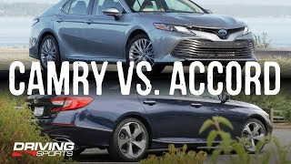 2018 Honda Accord vs 2019 Toyota Camry - The Shootout