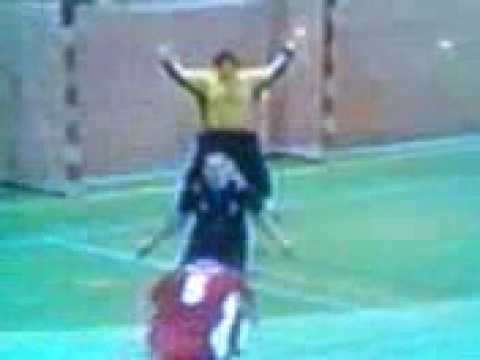 Funny handball best of face shot moments