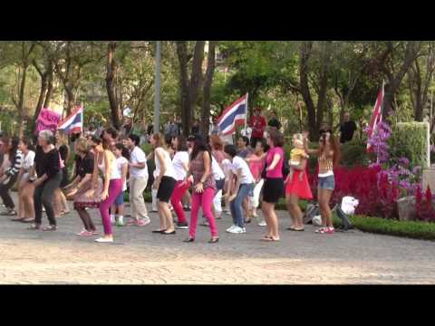 Bangkok Rising Flash Mob – A celebration of International Women's Day – Bangkok Flash Mob