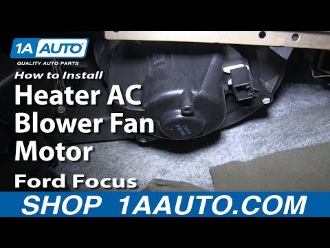 How To Install Replace Heater AC Blower Fan Motor 2000-07 Ford Focus