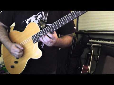 Yngwie J Malmsteen style Nylon String Guitar
