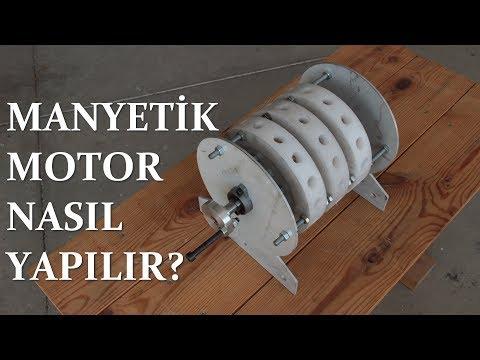 Manyetik Motor Nasıl Yapılır?