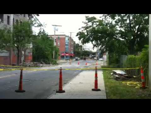 Tornados Hit Bridgeport Connecticut June 25, 2010