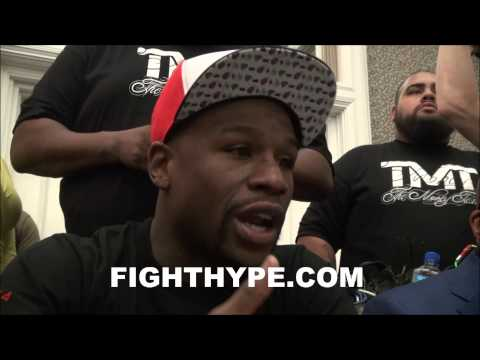 FLOYD MAYWEATHER ON AL HAYMON ONE OF THE BEST MEN I EVER META MAN OF HIS WORD