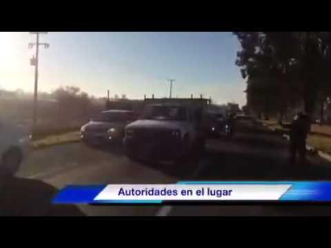 Choque múltiple en Carretera a Chapala