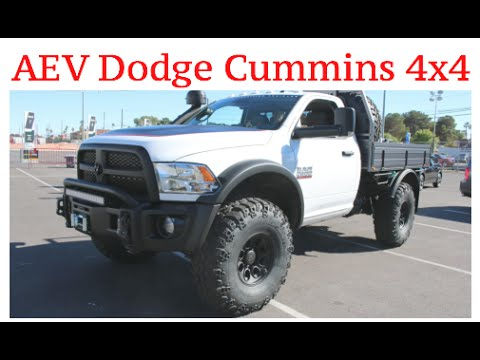 Aev Dodge 2500 Cummins 4x4 Sema Las Vegas Youtube