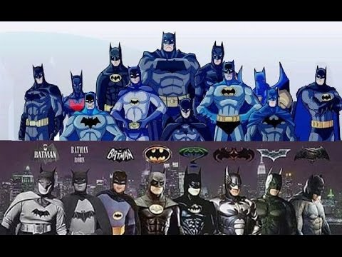 Batman - Evolution in Cinema & TV