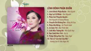 CD Lênh Đênh Phận Buồn (TNCD586) songs from PBN 122