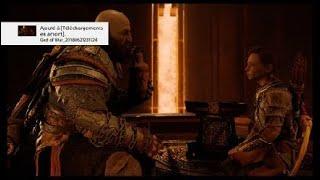 God of War gratos fait confiance a son fils