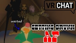 Getting Drunk and Passing Out In VRChat