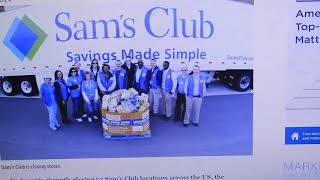 WHY Walmart is abruptly closing 63 Sam's Club stores and laying off thousands of workers
