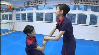 Wing Chun for Hong Kong Airlines Flight Attendants