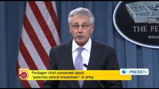 Hagel worried over ethical