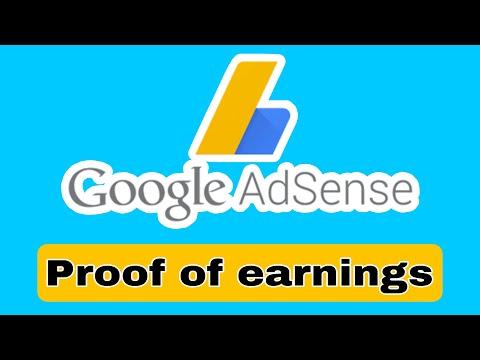 google adsense earnings march 2018