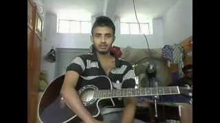 চাহু মে আনা বাংলা গিটার টিউটোরিয়াল(chahu mein ana bangla guitar tutorial) For the beginners!