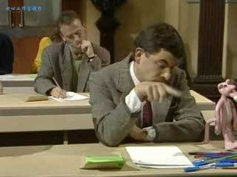 Mr. Bean---The Exam