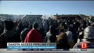 Dakota Access Pipeline permit denied