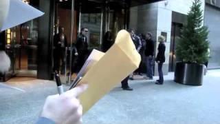 Cher leaving her hotel in nyc (November 2010)