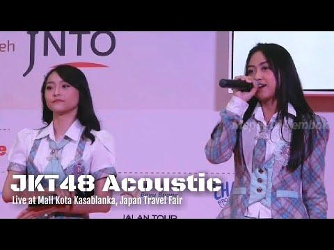 JKT48 Acoustic - Lantang   Live at Kota Kasablanka