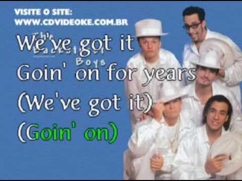 Backstreet Boys, The   We've Got It Goin' On