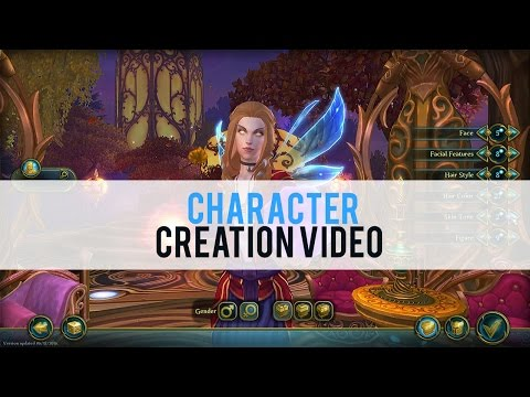 Allods Online Character Creation - First Look HD