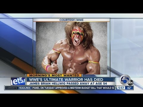 Wrestling icon Ultimate Warrior dies