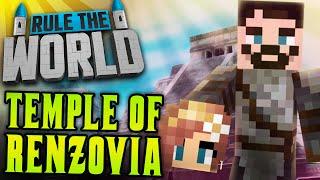 Minecraft Rule The World #34  - Temple of Renzovia