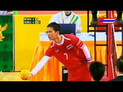 Malaysia - Thailand Sepaktakraw 27th Sea Games 2013 video