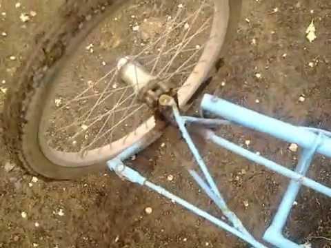 4 колесный велосипед видео