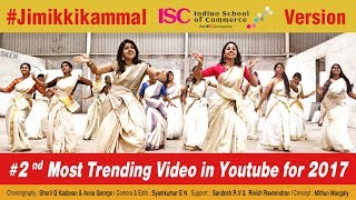 Jimikki Kammal  - Dance Perfomance by Indian School of Commerce