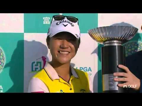Lydia Ko wins 2015 Fubon LPGA Taiwan Championship