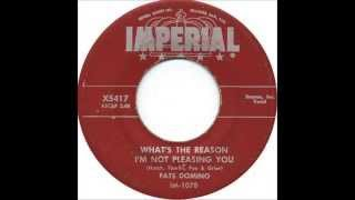 Watch Fats Domino Whats The Reason Im Not Pleasing You video