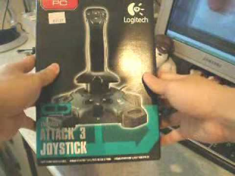 Unboxing my Logitech Attack 3 Joystick
