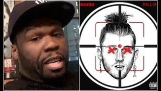 """50 Cent Reacts To Eminem KILLSHOT """"What Have You Got Yourself Into"""""""