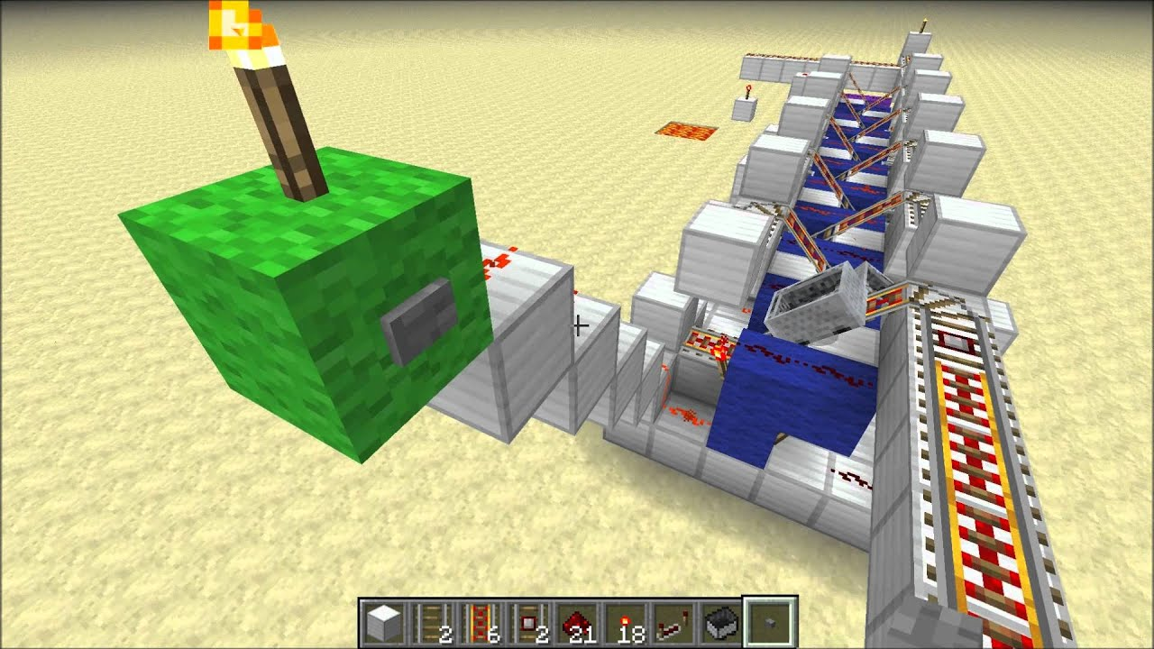 minecraft cosmic how to make a sand trap