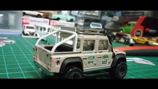 Custom land rover defender double cab
