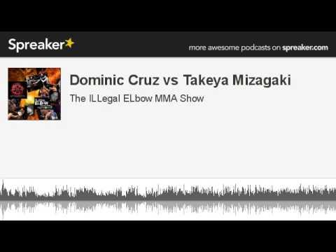 Dominic Cruz vs Takeya Mizagaki part 1 of 2 made with Spreaker