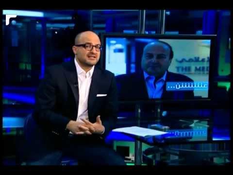رد نديم قطيش على تهديد رفيق نصرالله DNA