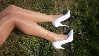 Pantyhose Wolford neon color Gobi