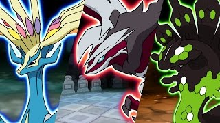 Add Xerneas, Yveltal, and Zygarde to Your Pokémon Video Game!