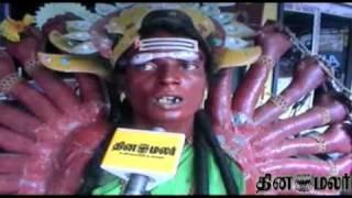 Nellai Kulasai Dasara muthuraman festival - DINAMALAR