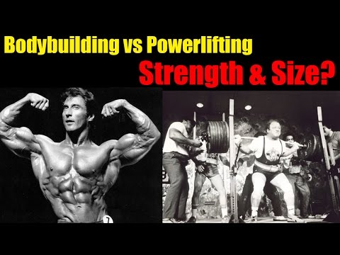 Research Review Ep. #6: Bodybuilding vs Powerlifting 4 Strength & Size
