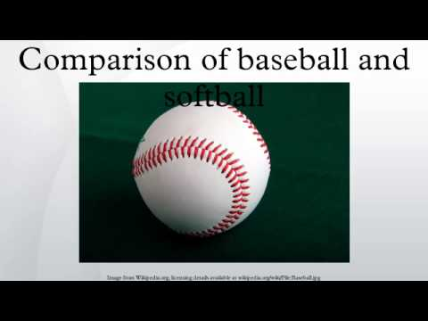 a comparison between the games of baseball and fastpitch softball The differences between softball and fastpitch are meaningful when  and if it  was baseball, what struggles, if any, did they have trying to play the game.