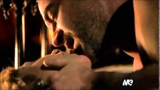 Megan Follows & Alan Van Sprang LOVE SCENE {Reign - Catherine & Henry}