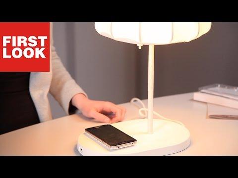 IKEA Smart-Lamp VARV: Kabellos das Smartphone laden