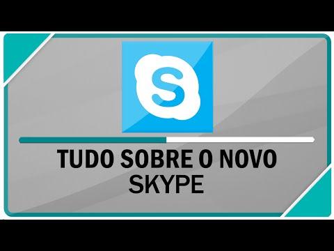 Tudo sobre o novo Skype